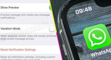 Whatsapp estaría trabajando en un 'modo vacaciones' para que nadie te moleste