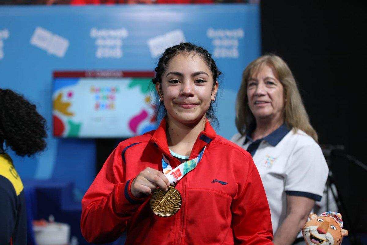 ¡Orgullo! Yesica Henández gana primer oro en la historia de los Juegos de la Juventud