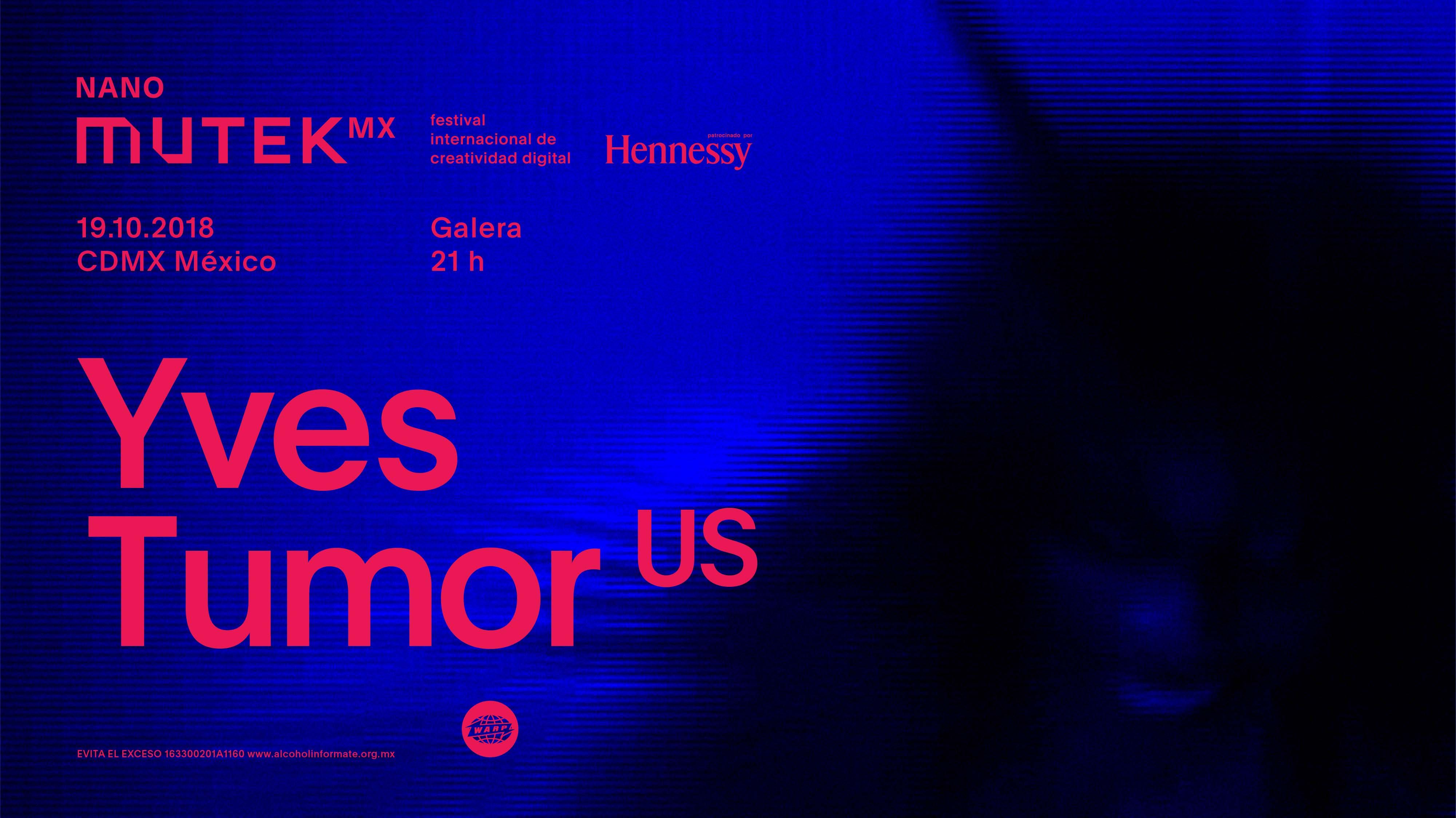 Tenemos boletos para que te lances a ver a Yves Tumor en NANO MUTEK MX 2018