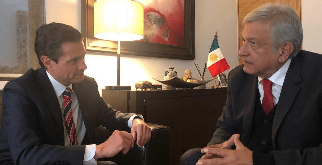 Crossover presidencial: AMLO invita a EPN para 'agradecer sus atenciones'