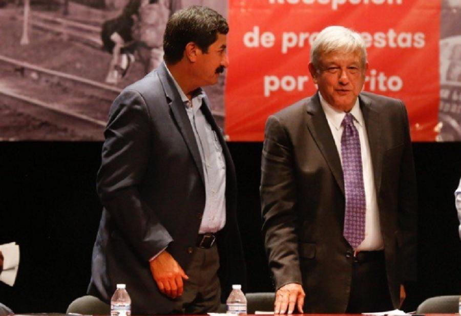 Javier Corral y AMLO