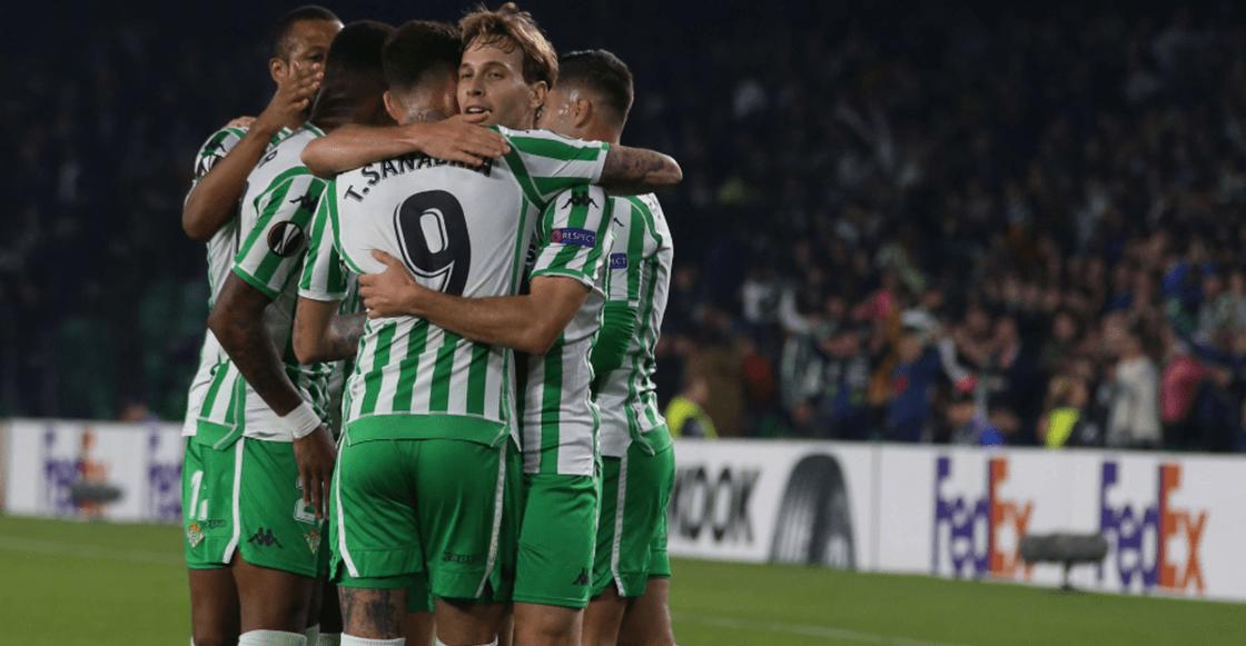 ¡A 16avos! El gol que clasificó al Betis de Andrés Guardado en la Europa League