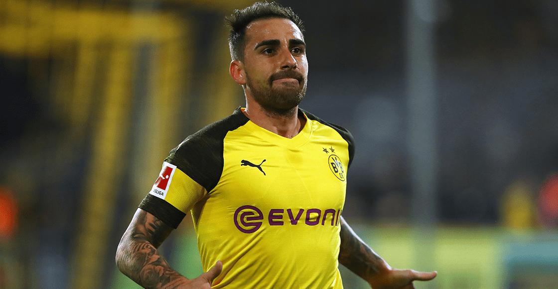 ¡Se queda! Borussia Dortmund hizo válida la opción compra por Paco Alcácer