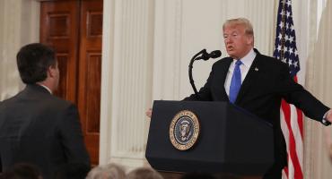 ¡Pum! CNN presenta demanda contra Trump por el veto al periodista Jim Acosta