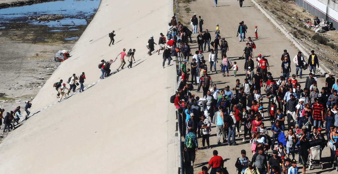 En Tijuana, deportarán a 98 migrantes que intentaron cruzar la frontera