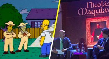 'Es diabólico, señor Salinas': expresidente reaparece en ponencia de Maquiavelo