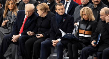 'Make France great again': Trump le quiere dar clases a Macron