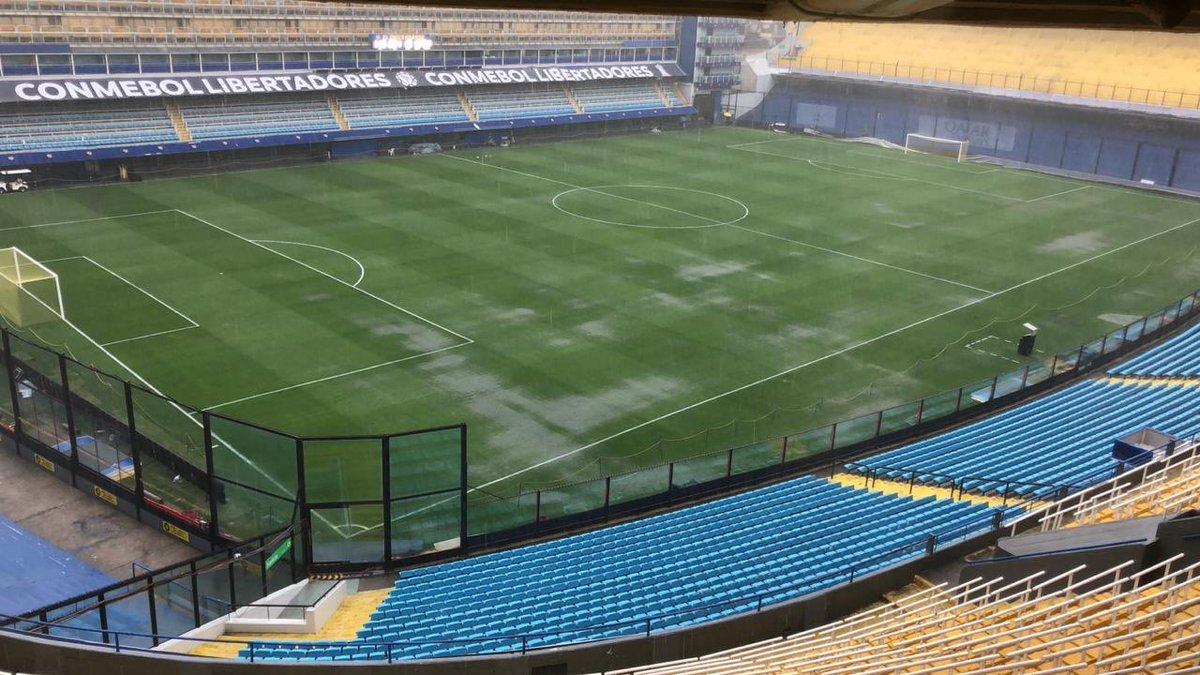 ¡De último momento! Se suspende la Final de la Copa Libertadores por intensa lluvia