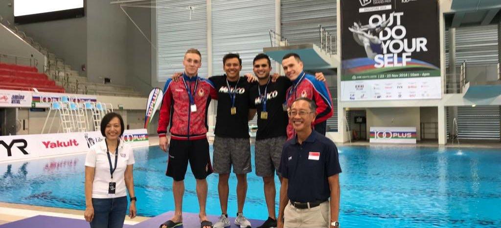 ¡Orgullo nacional! Germán Sánchez e Iván García ganaron medalla de oro en Grand Prix de Singapur 2018