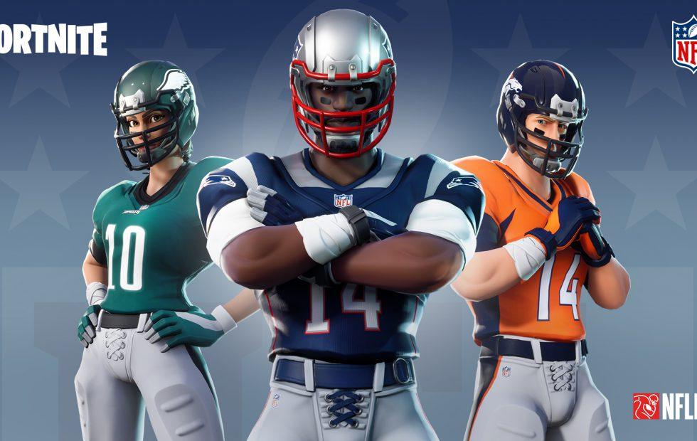 Preparen sus consolas: Uniformes y festejos de la NFL llegarán al Fortnite