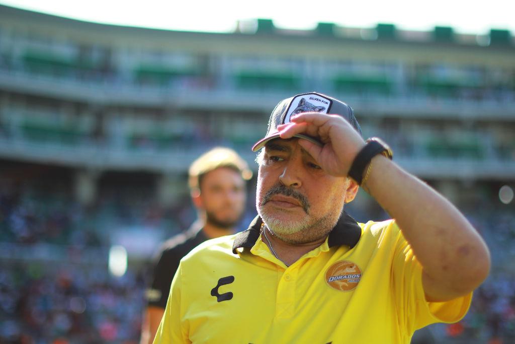 Maradona criticó a la Conmebol y pidió que le entreguen la Libertadores a Boca
