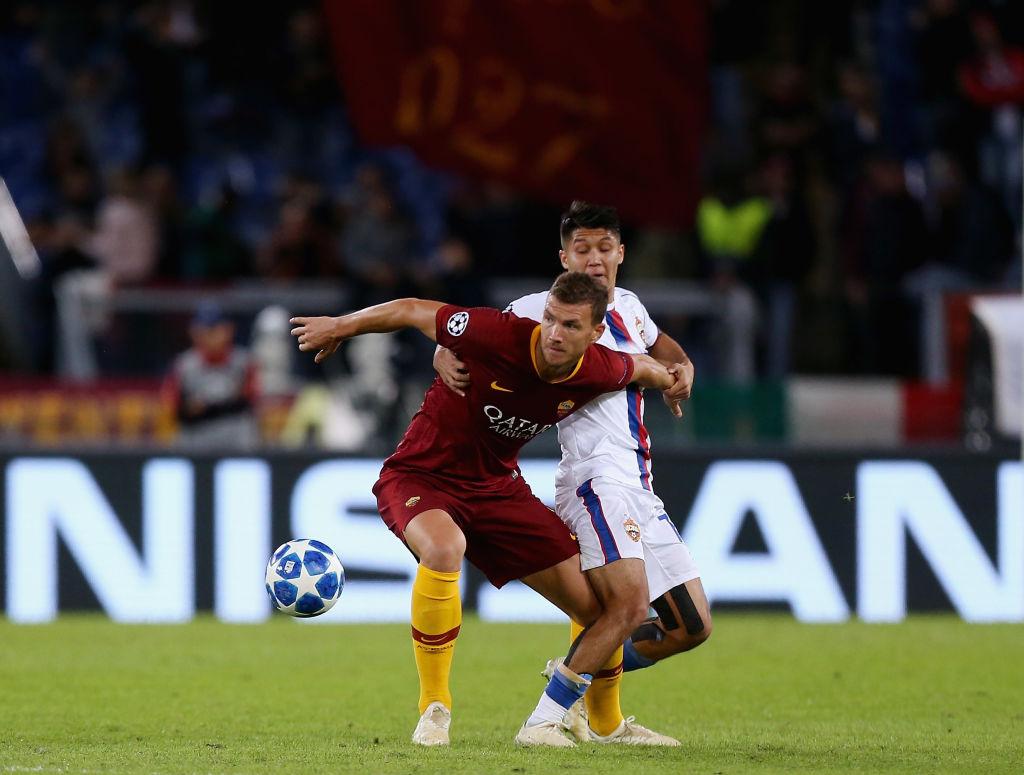 Roma gana en Champions League y suma 26 años sin perder contra equipos rusos
