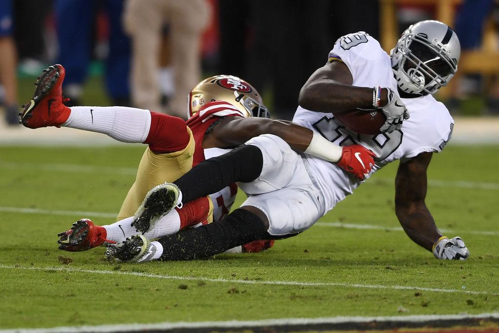 ¡Masacre! 20 imágenes del triunfo de los 49ers sobre los Raiders