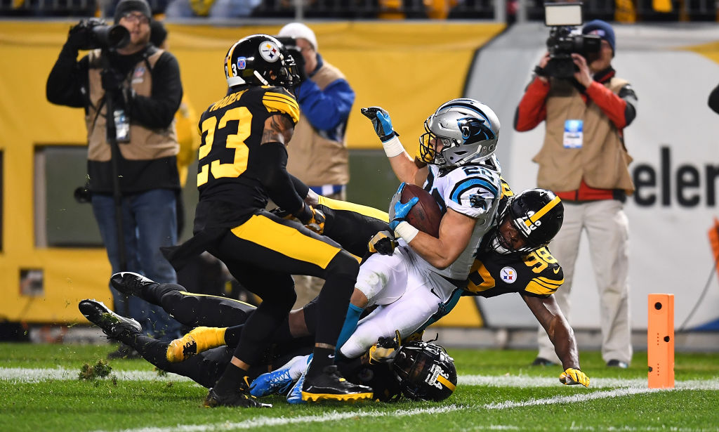 ¡Aplastante! 20 imágenes del triunfo de los Steelers sobre las Panthers