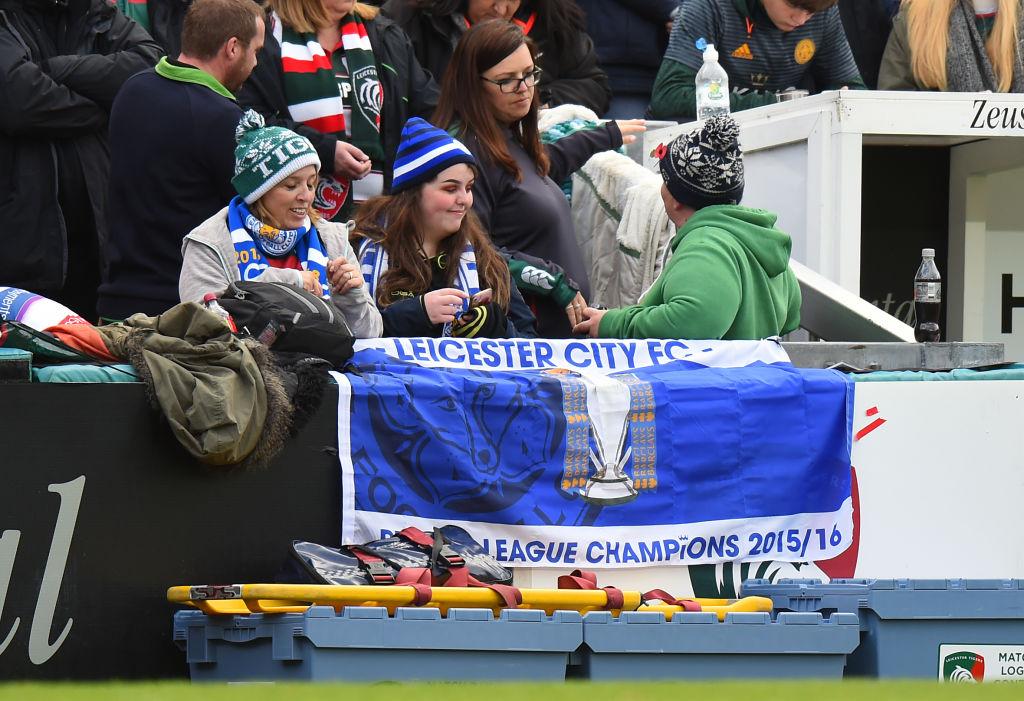 El Leicester le dedica su victoria a su fallecido propietario
