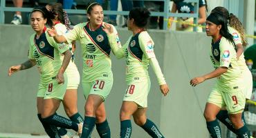 ¡Van los goles! América es el primer semifinalista de la Liga MX Femenil