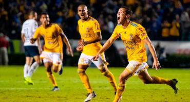 ¡Van los goles! Tigres le remontó a Pumas en la ida de Cuartos de Final