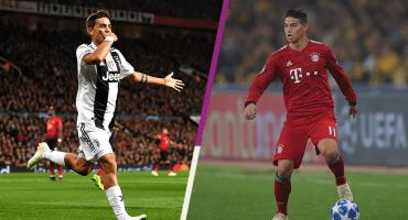 ¿Qué, qué? Juventus y Bayern Múnich harían intercambio Dybala-James