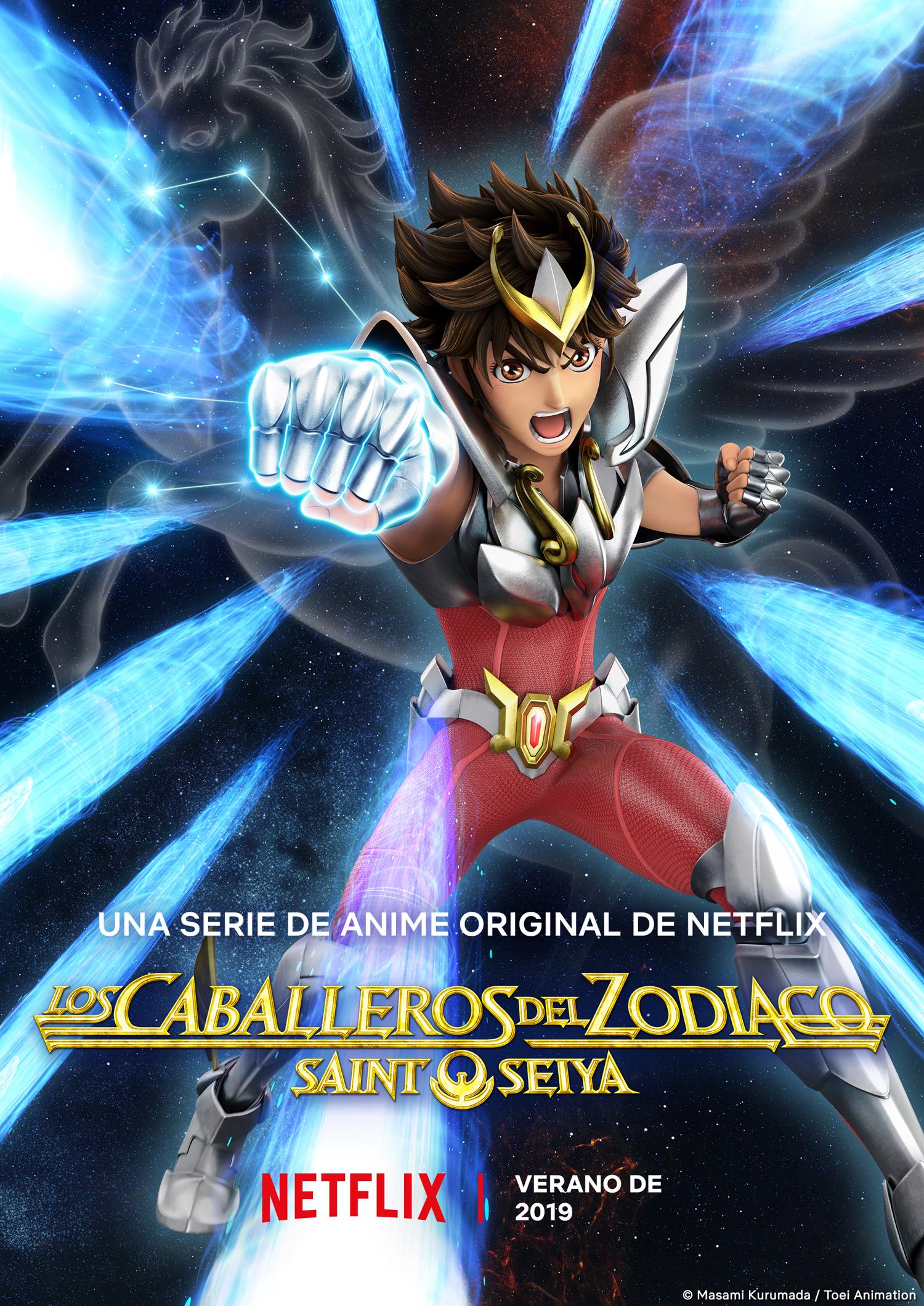 ¡Saint Seiya! Netflix anuncia los estrenos de animes para 2019