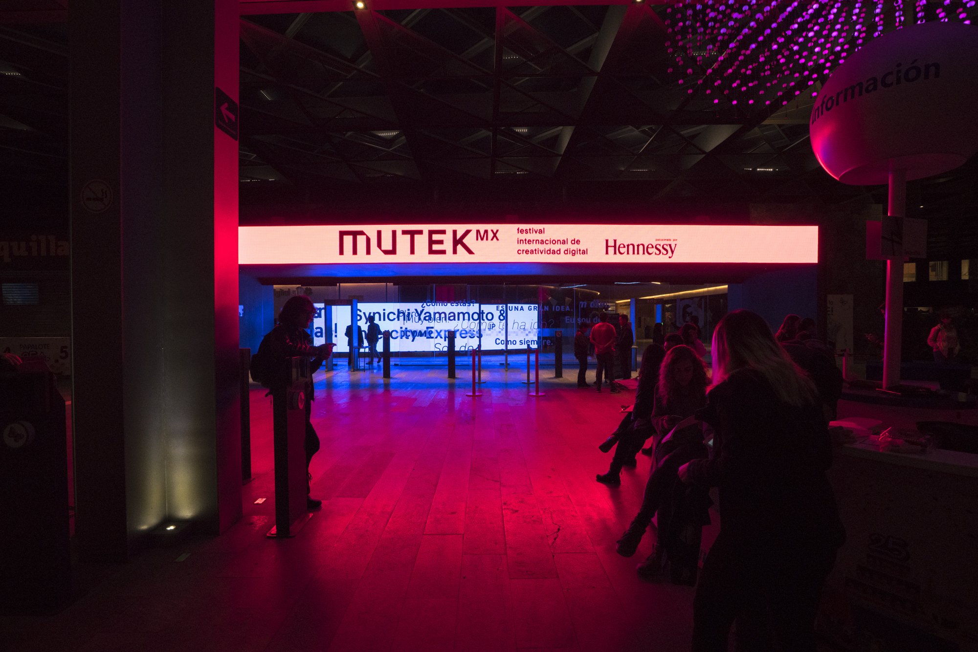 ¡MUTEK MX 2018 ya comenzó! Estas son las mejores fotos de A/Visions 1