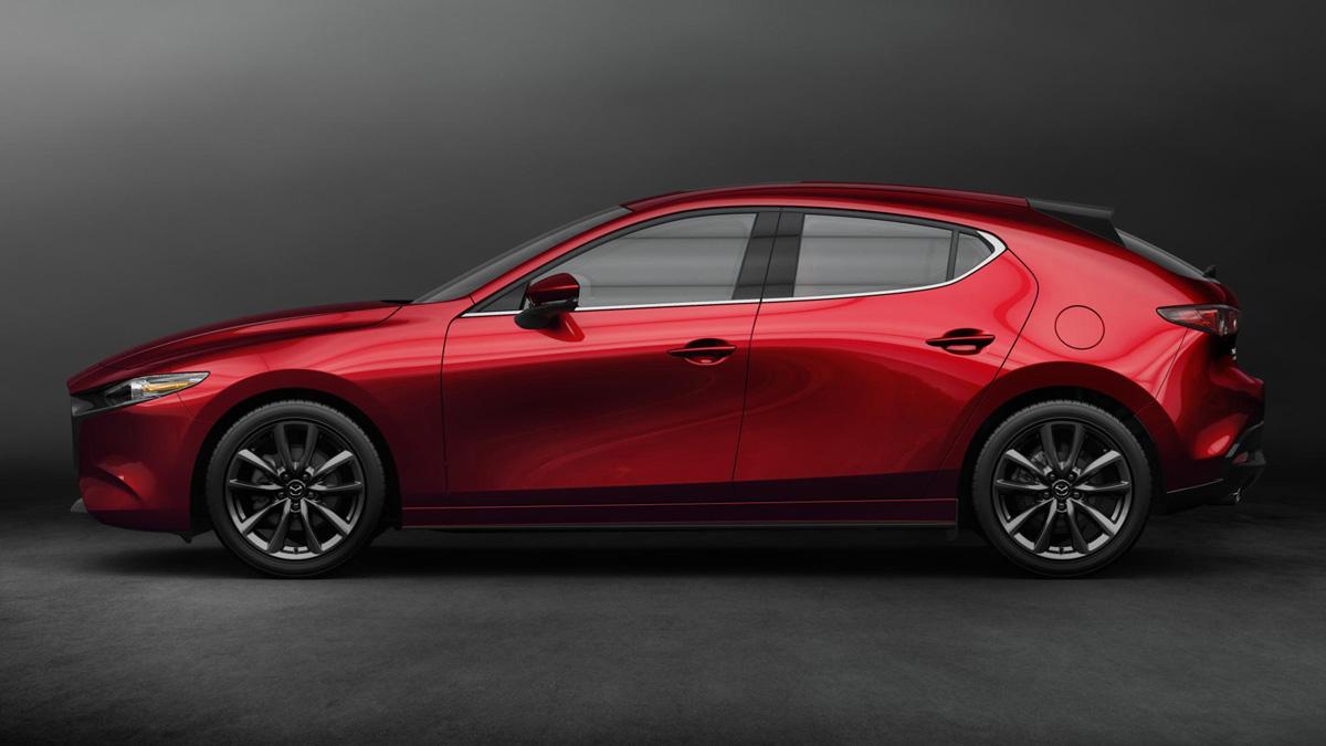 El nuevo Mazda 3 2019 en su versión Hatchback