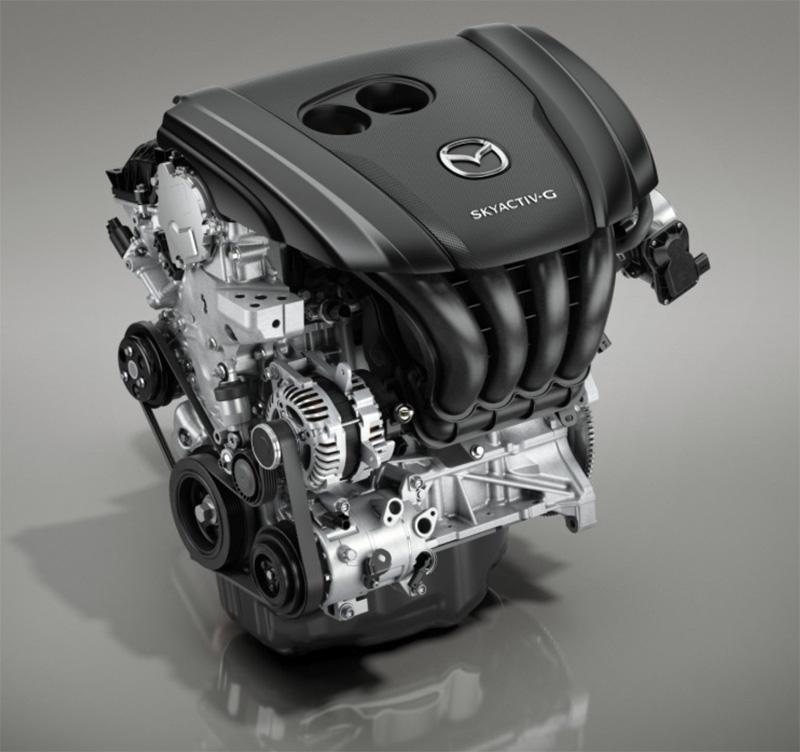 Así luce el poderoso motor del nuevo Mazda 3 2019