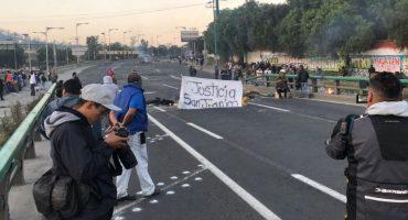 Continúa bloqueo en Autopista México-Pachuca; manifestantes piden hablar con autoridades CDMX