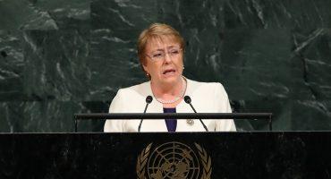 México con cifra de muertes violentas de país en guerra, señala Michelle Bachelet