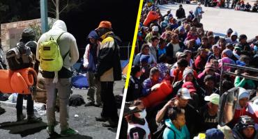Ante llegada de la Caravana Migrante, vecinos de Playas de Tijuana protestan