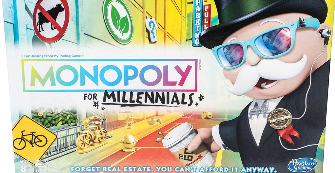 ¿Gracias? Hasbro lanza el primer Monopoly para Millennials