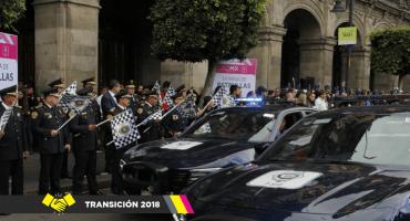 Serán 5 mil 921 policías CDMX para operativo de la toma de protesta de AMLO