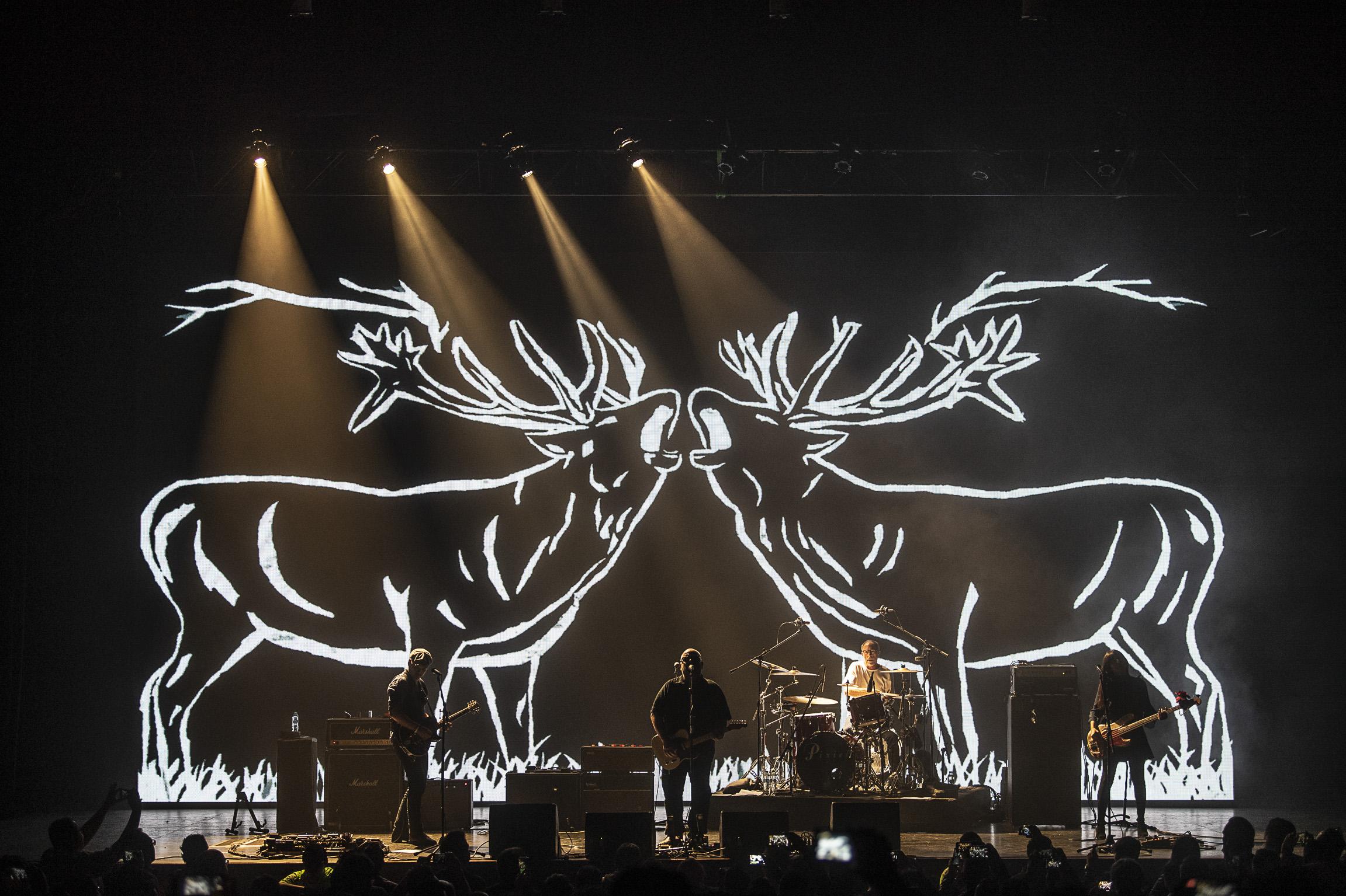 Pixies en Teatro Metropólitan