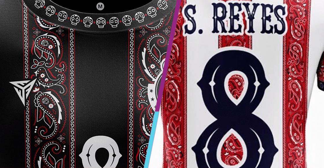 ¡Qué joya! Diseñan playera especial de Día de Muertos de Chivas