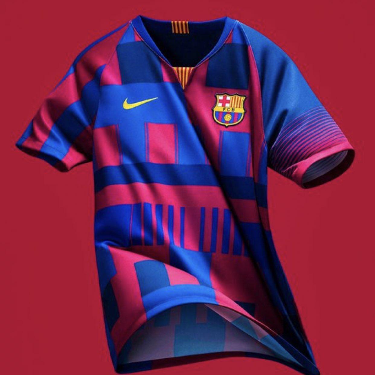 ¡Es oficial! Nike lanza playera especial para celebrar sus 20 años con el Barcelona