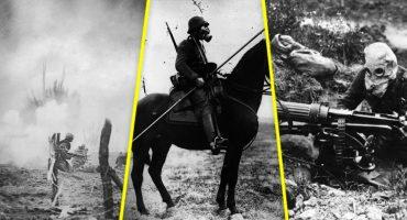 En imágenes: 1914-1918, así se vivió la Primera Guerra Mundial