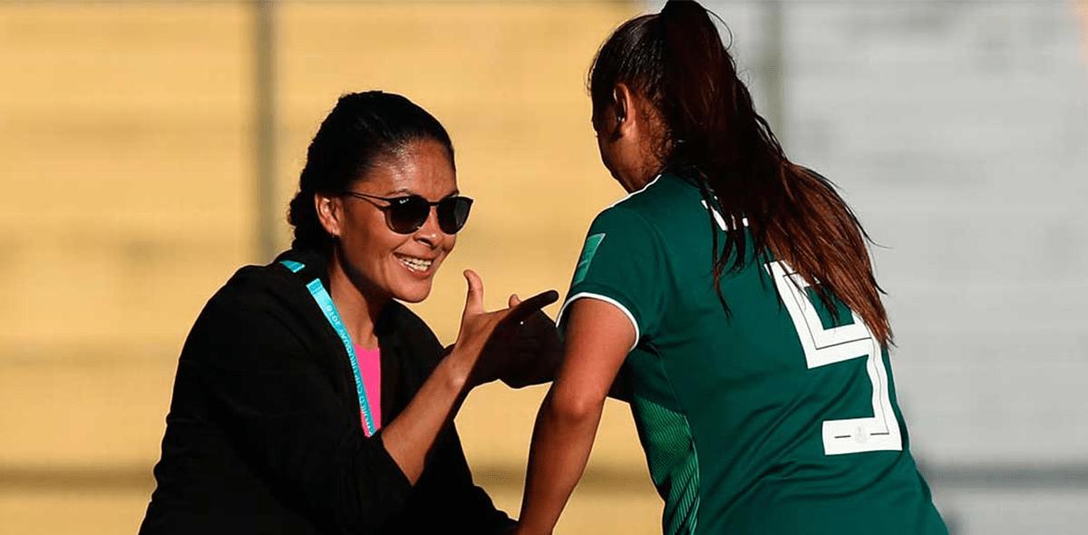 Ella es Mónica Vergara, la mujer detrás del éxito del Tri Femenil Sub-17