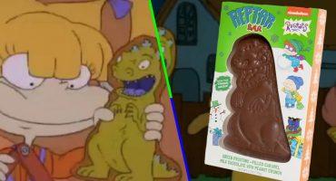 Navidad de los 90: ¡Llegaron las barras de chocolate de 'Reptar' de 'Rugrats'!