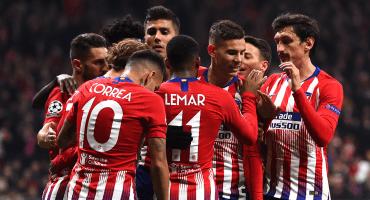Atlético amarró pase a Octavos y Lokomotiv eliminó al Galatasaray
