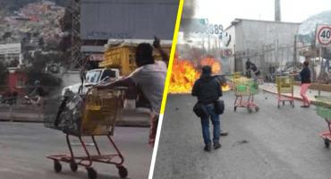 'Es gente que no es del pueblo': vecinos de San Juanico regresan mercancía ante saqueos