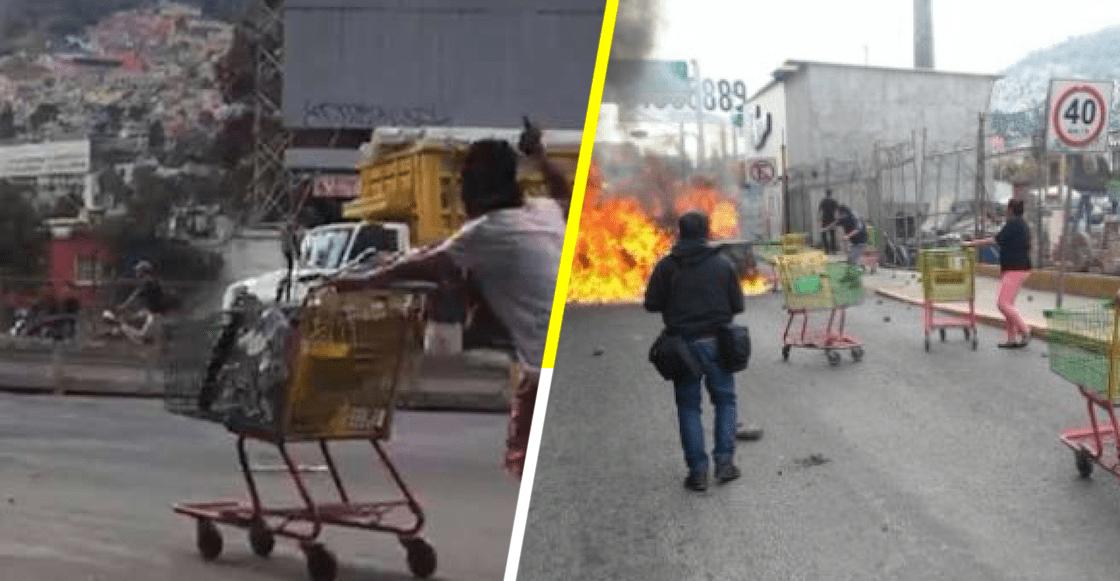 'Es gente que no es del pueblo': vecinos de San Juanico regresan mercancía robada