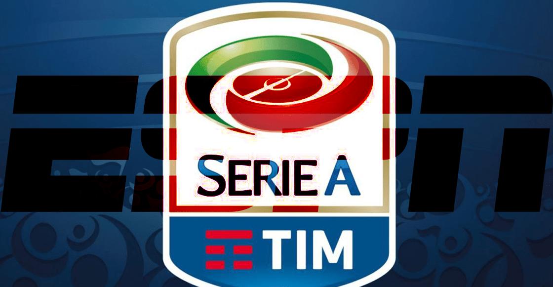 ¡Ya era hora! Serie A de Italia volverá a ser transmitida por ESPN en México
