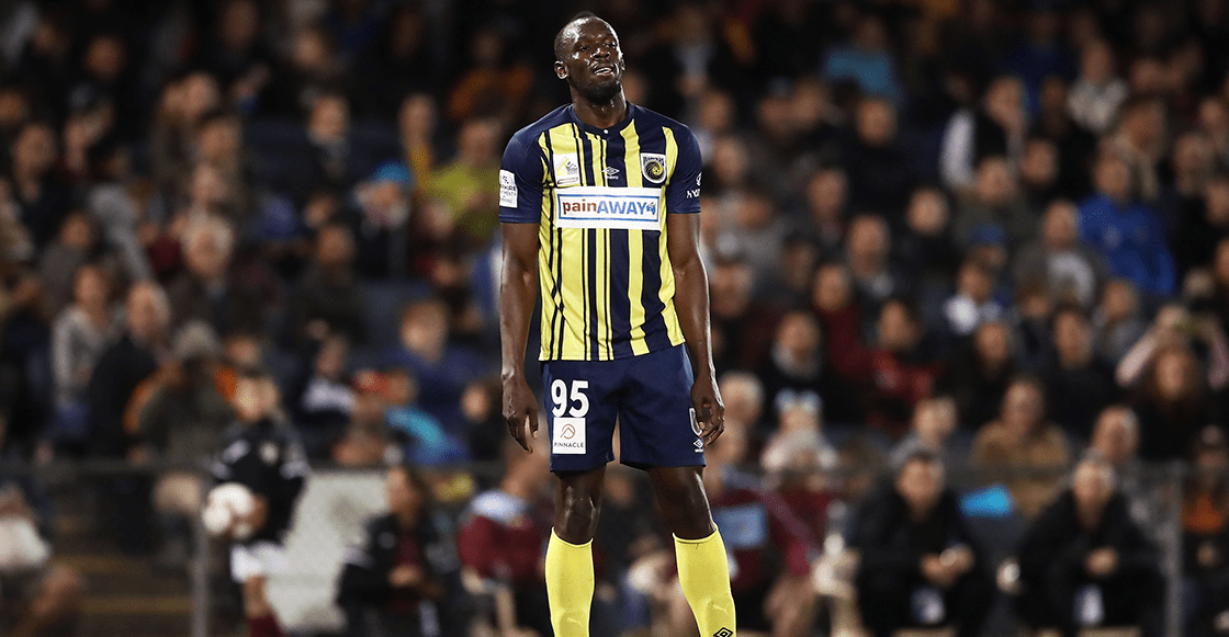 Usain Bolt se despide del Central Coast Mariners