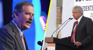 ¿Fifí contra chairo? Fox le pide a AMLO que deje de hacer 'encuestas piteras'