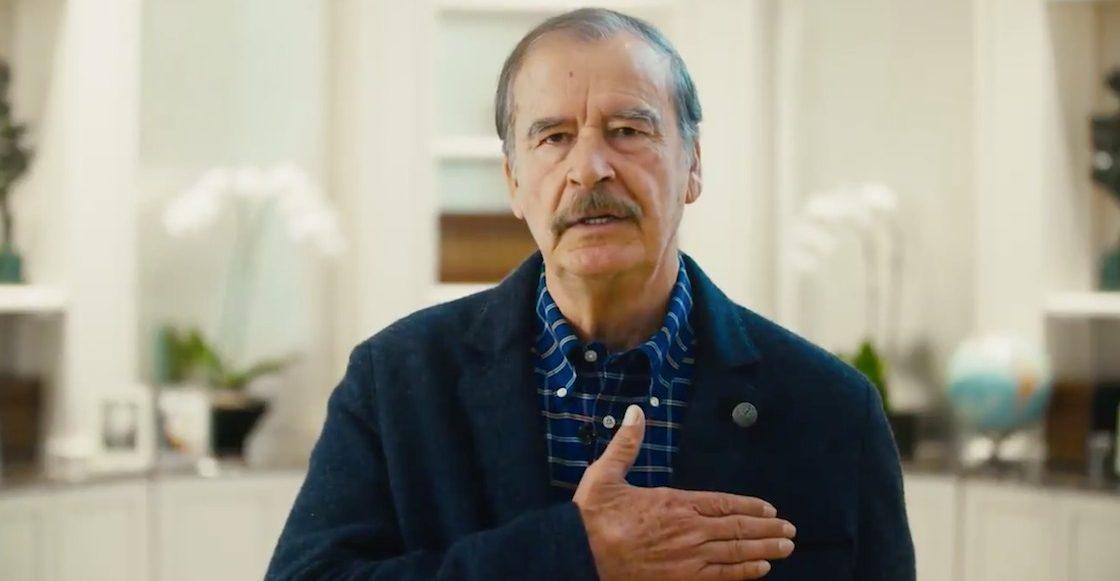Si es por el bien de México, va: así se despide Vicente Fox de su pensión