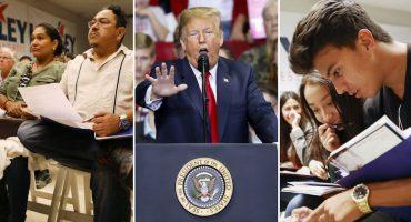 Voto latino contra Donald Trump: 7 de 10 votaron por el Partido Demócrata