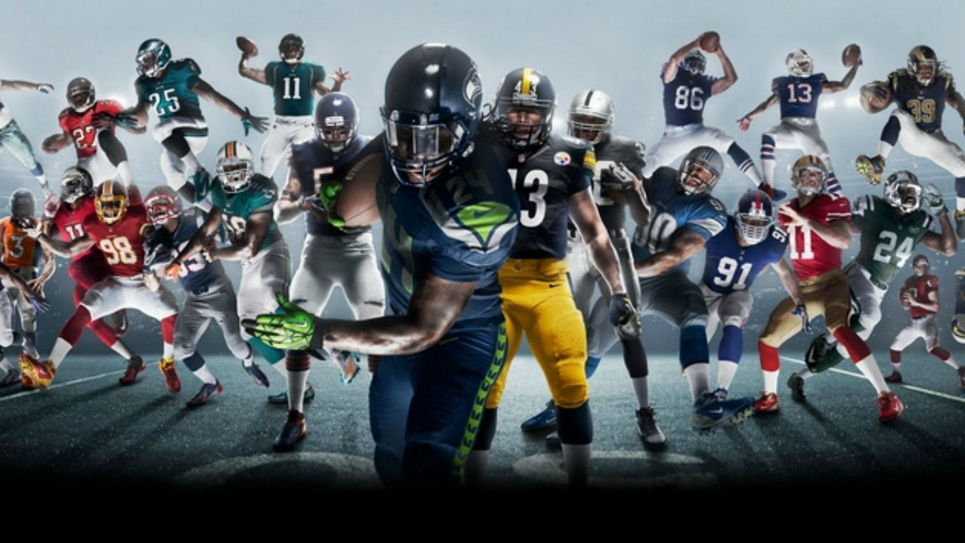 Cool Pictures Of Nfl Players Search: Preparen Su Consola: ¡Uniformes Y Festejos De La NFL