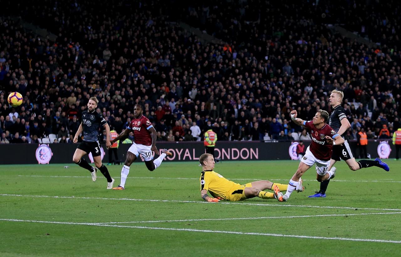 ¡Nuestro señor! 'Chicharito' volvió a anotar gol con el West Ham