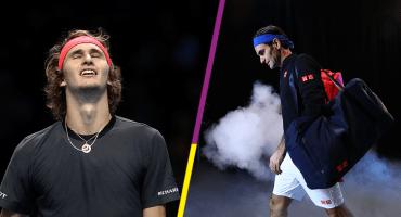 Zverev, de 21 años, elimina a Roger Federer y el público lo abuchea