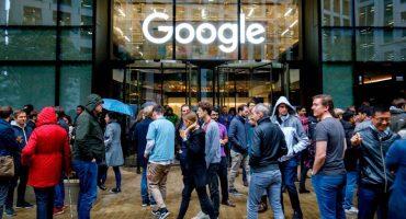 Trabajadores de Google se van a paro en protesta por acoso sexual