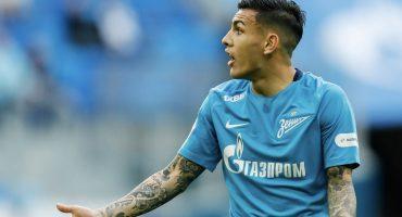 ¡Descubierto! Acusan a jugador del Zenit de hacerse expulsar para ir a la Copa Libertadores